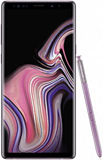 Samsung Galaxy Note 9 Single SIM - 128GB, 6GB RAM, 4G LTE, Lavender Purple