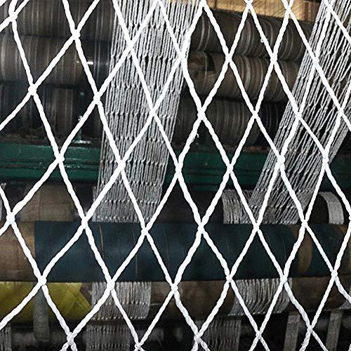 Red de cuerda de seguridad anticaídas para construcción, valla de jardín, malla colgante de malla, red de remolque de carga, red de seguridad para niños (tamaño: 3 x 4 m)