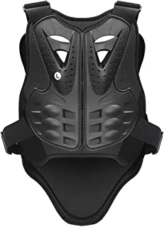 Pellor Sports Chest Back Spine Protector Vest Anti-Fall Gear Motorcycle Jacket Motocross Body Guard Vest