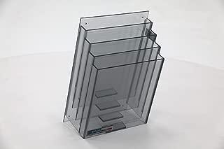 Terra Universal 4005-23 Cleanroom File Holder, Type A, 4 Slot, 5