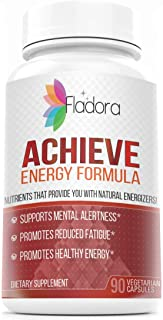 Achieve Energy Formula – Multivitamin Complex with L-taurine and B Vitamins, Supports Focus, Clarity – Nootropic Smart Ene...