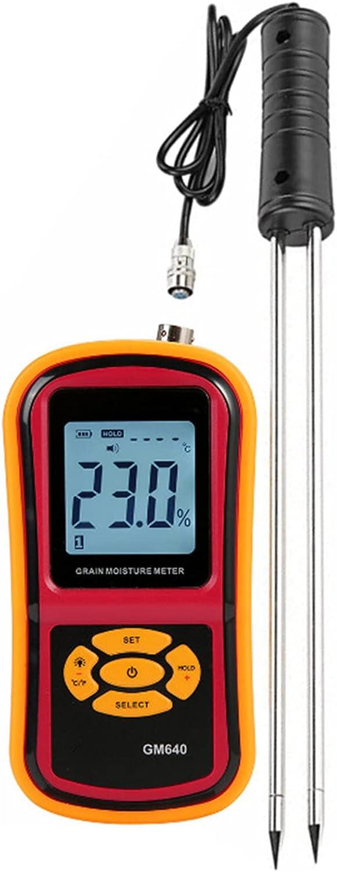 Digital Sale SALE% OFF Grain Moisture Meter Met Inventory cleanup selling sale Multifunctional Fibre
