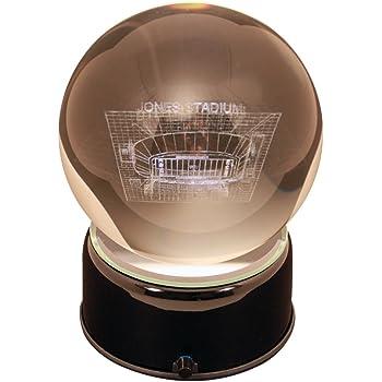NCAA South Carolina Gamecocks Williams Bryce Stadium Etched Lit Musical Turning Crystal Ball
