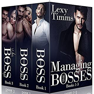 Managing the Bosses Box Set #1-3: Billionaire Romance audiobook cover art