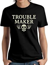 BINB Women Troublemaker Surviving Hollywood And Scientology Tshirts Funny