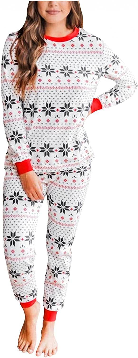 Family Christmas Outfits Clothes Sleepwear Xmas Print Fashion New Indianapolis Mall arrival