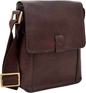 Hidesign Men's Aiden Leather Messenger Cross Body Bag