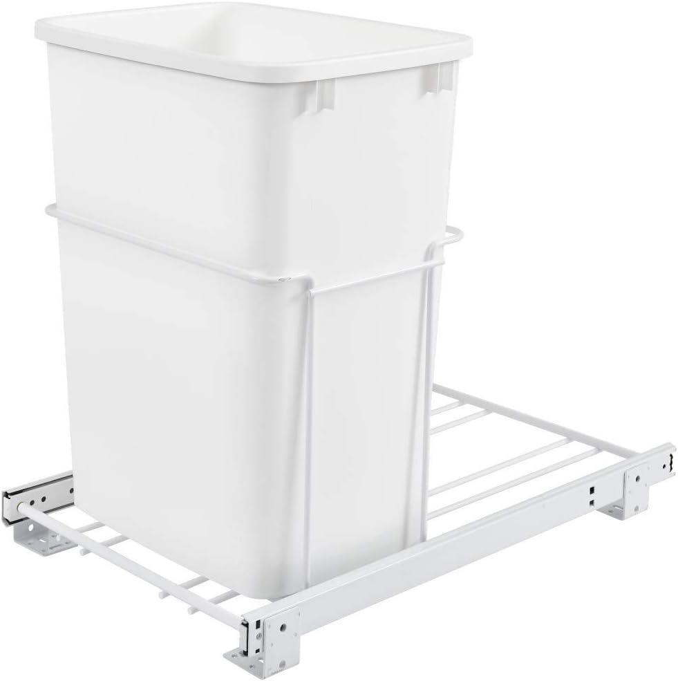 OFFicial site Rev-A-Shelf RV-18PB-1 Single 35 Quart Bargain sale Con Pull-Out Sliding Waste