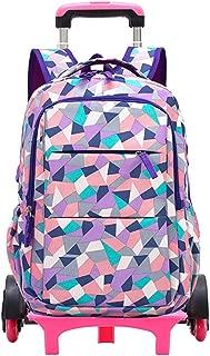 Junior high school student trolley bag 6-9 grade six-wheel climbing stairs detachable trolley backpack