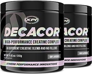 Decacor Creatine (2 Pack) - Best Creatine Powder - 10 Creatine Blend - Top Creatine Supplement