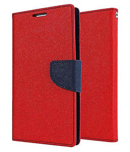 GadgetKarePro Mercury Premium Leather Diary Stand Wallet Flip Cover Case for Motorola Moto G (2nd Gen)