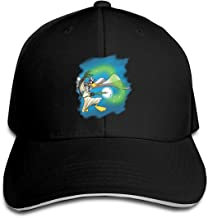 LUCY FOSTER Looney Daffy Duck Outdoor Ball Cotton Caps Hats Adjustable Black