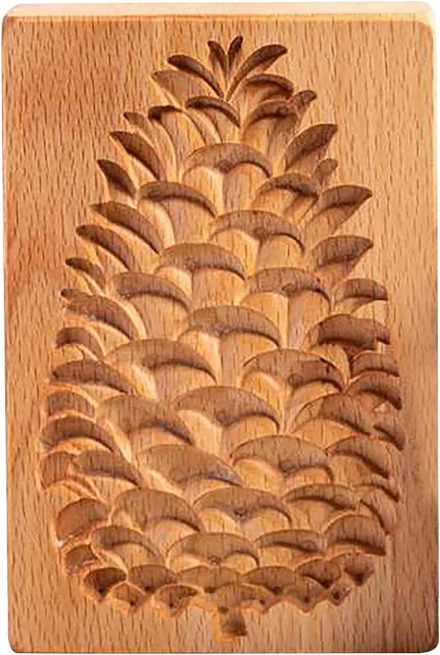 Koonghong Pinecone Cookie Mold Max 88% OFF Max 74% OFF Biscuit for Baking Cutter