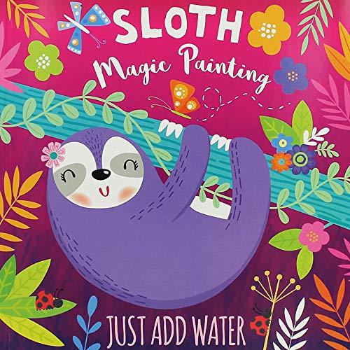 i-Read Sloth Magic Painting Book