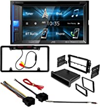 CACHÉ 3070 Bundle with Complete Car Stereo Installation Kit with Receiver – Compatible with 2012–2015 Chevy Captiva Sport – Bluetooth Touchscreen, Backup Camera, Double Din Dash Mounting Kit (5Item)