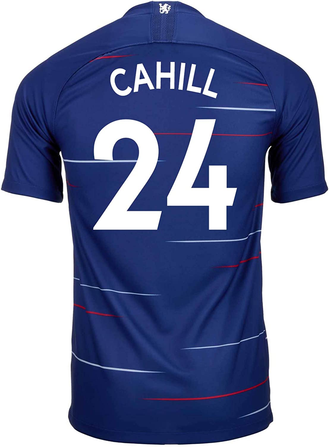 Nike Cahill  24 Chelsea Home Soccer Youth Jersey 2018 19