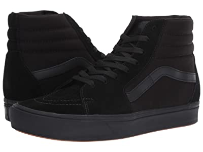Vans ComfyCush SK8-Hi ((Classic) Black/Black) Athletic Shoes
