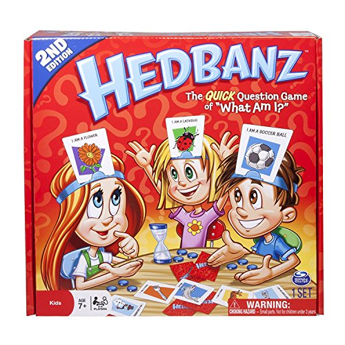 HedBanz Game 2nd Edition The Quick Question Game of What Am I?