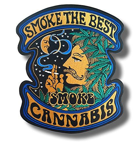 Smoke The Best - Toppa Patch, 28 x 33 cm