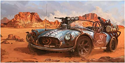 Interceptor Retro Car HD Canvas Prints Picture Mad MAX For Living Room Poster On The Wall Home Decoration 50x80cm unframed