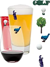Charms Themed Magnetic Markers Golfers