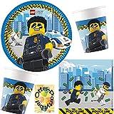 HHO Lego-City-Party-Set 36tlg. für 8 Gäste Telle