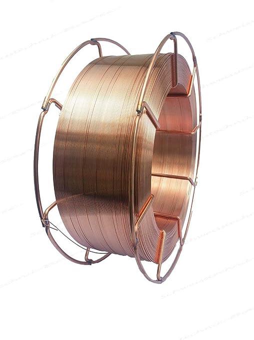 Sg2 1 5125 Schweißdraht 0 8mm Schutzgasschweißdraht 15kg Rolle K300 Mig Mag Stahlschweißen Baumarkt
