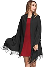 Pashmina Shawls and Wraps for Women - PoilTreeWing Solid Color Cashmere Scarfs