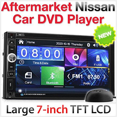 17,8 cm auto-dvd-speler, USB MP3-stereo-radio voor Nissan Juke, Qashqai Navara X-Trail, Nissan Pathfinder, Micra NV200 Combi.