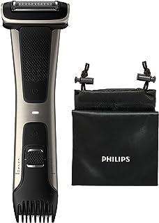 Philips Bodygroom Series 7000 - Te gebruiken onder de douche - 80 Minuten draadloos te gebruiken - Dubbelzijdig ontwerp - ...