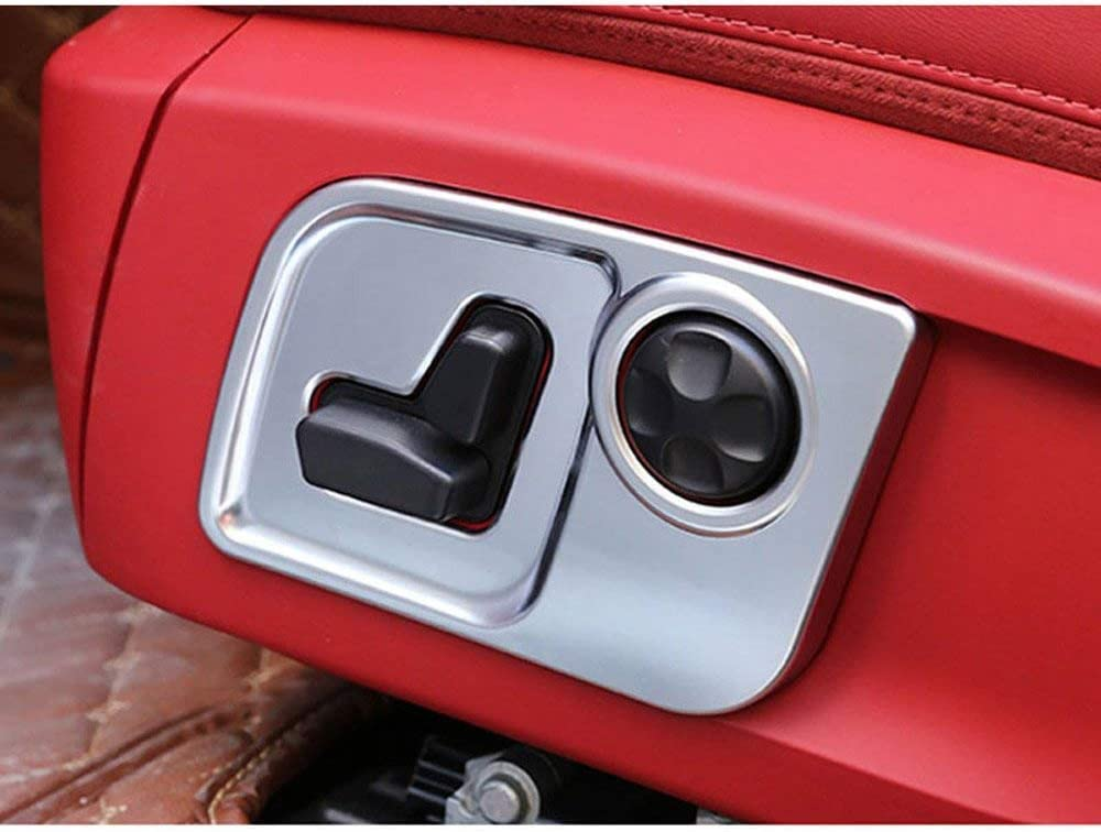 ABS Limited price Plastic Car-Styling Seat Side Cover Trim Frame Decorate New product type for