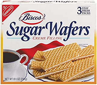 Biscos Sugar Wafers with Creme Filling, 8.5 Ounce