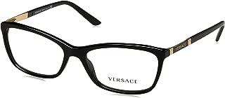 VE3186 Eyeglass Frames GB1-54 - Black VE3186-GB1-54