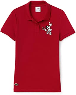 Lacoste Womens Pf1348 Short Sleeve Polo