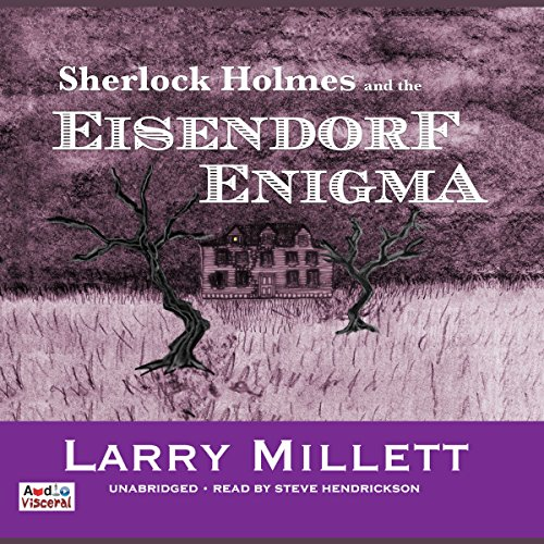 Sherlock Holmes and the Eisendorf Enigma audiobook cover art