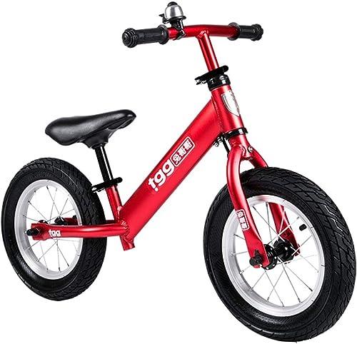 Hejok Girls   Bike,     Enfants Maternelle Voiture     Enfants sans PéDale 2-6 Ans VéLo en Aluminium Toboggan