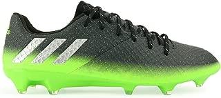 adidas Men's Messi 16.1 FG/AG Dark Grey/Silver Metalic/Solar Green Soccer Shoes