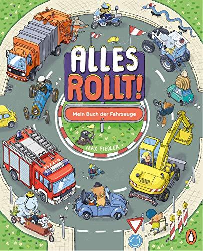 Alles rollt! Mein Buch der Fahrzeuge: Pappbilderbuch ab 2 Jahren