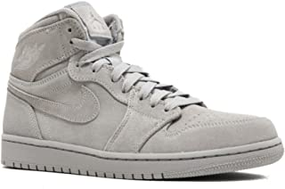 332550-031 Men AIR 1 Retro HIGH Jordan Wolf Grey
