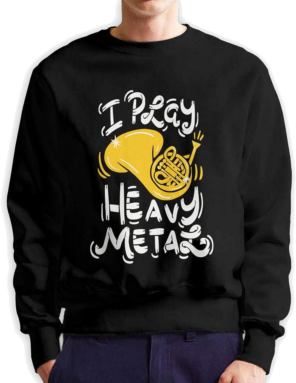 jawass Heavy Tulsa Mall Metal Men's Hoodie T Sleeve Long Shi Japan Maker New Classic