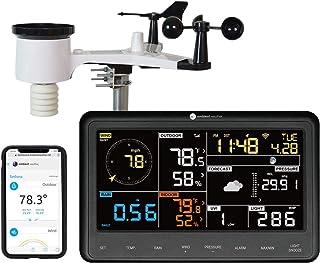 Weather Ambient WS-2902A ایستگاه هواشناسی هوشمند WiFi با نظارت و هشدار از راه دور