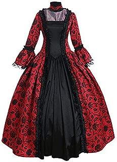 Women's Victorian Rococo Dress Inspiration Maiden Costume NQ0032