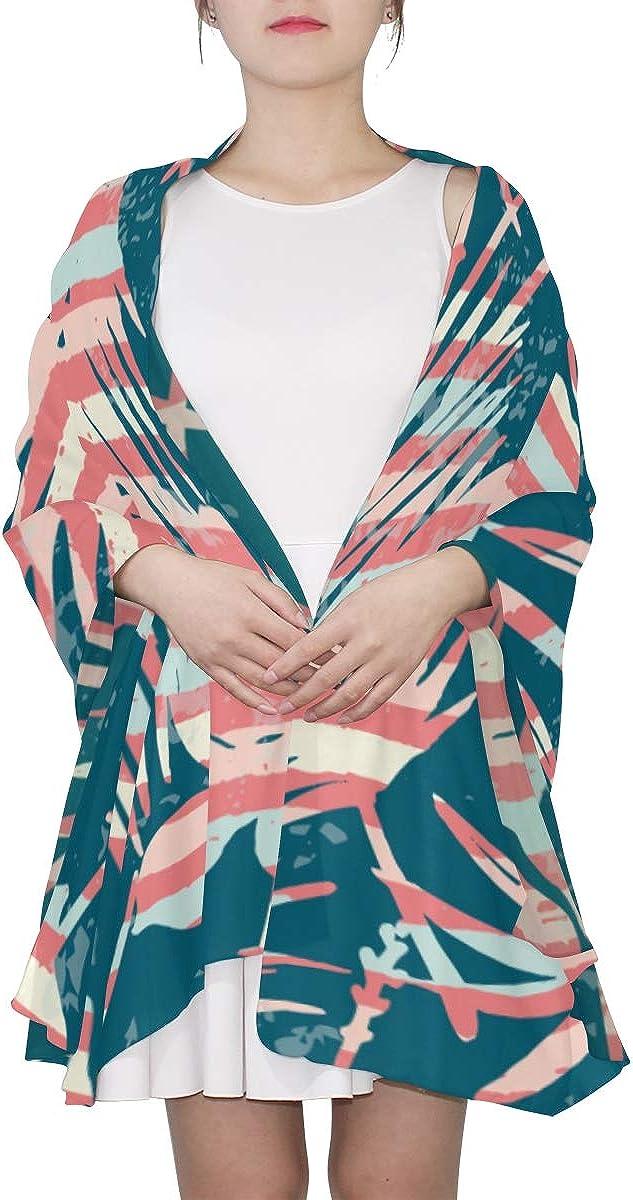 Thin Scarfs For Women Lightweight Trendy Creative Fashion Painting Shoulder Scarf Scarf Men Lightweight Print Scarves Lightweight Fashion Scarf Wrist Scarfs For Women