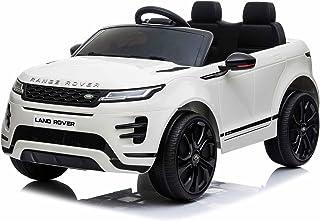 Range Rover Evoque Elektrische Kinderauto - 2 Persoons - Afstandsbediening - Sterke Accu - Wit