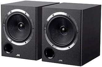 6.5-inch Powered Coaxial Studio Multimedia Monitor Speakers (Pair)