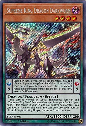 Supreme King Dragon Darkwurm - BLRR-EN063 - Secret Rare - 1st Edition