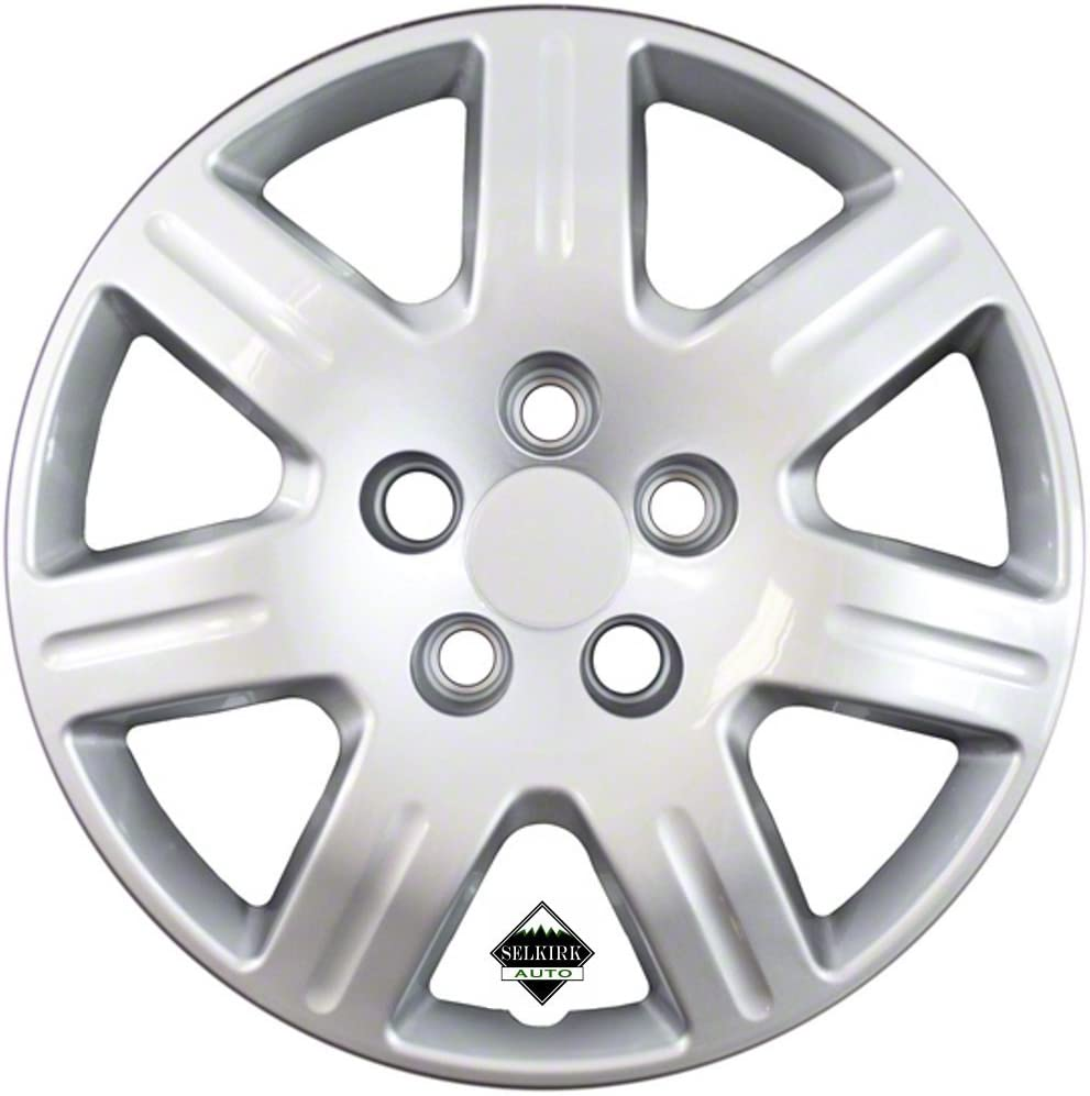 Set of 4 Silver 16 Inch Honda 7 Hubcaps New Shipping Free Shipping Replacement Spoke Civic Dedication