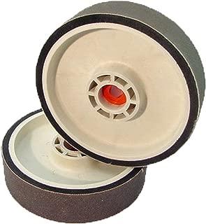BUTW 8 x 2 x 50,000 grit diamond soft flex lapidary grinding wheel East