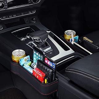 Caja de almacenamiento for los asientos del coche Catcher Gap Copa titular del teléfono móvil del caso organizador del envase de múltiples funciones portable Accesorios for automóviles for los coches