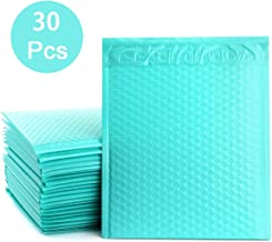 StarVast 8.5 x 11 Bubble Mailer #2 Mailing Envelopes Padded Teal Self Seal Waterproof Poly Bubble Mailers Padded Envelopes Pack of 30